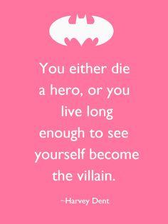 My favorite Batman Quote :)