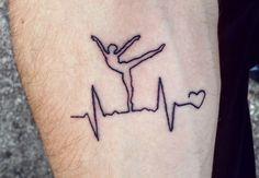 E que o melhor de você seja marcado para sempre! Ballet Tattoo ❤