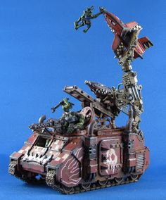 Grot Bomb Launcher, Orks, Warhammer 40k, Conversion.