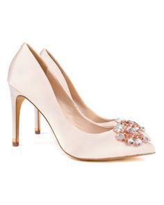 986769aad9 Women's Designer Shoes   Designer Boots & High Heels   Ted Baker. Nude  Court ShoesPeep Toe ...