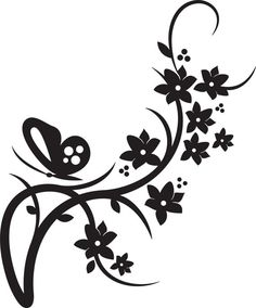 Here you find the best free Flower Border Clipart Black And White collection. You can use these free Flower Border Clipart Black And White for your websites, documents or presentations. Stencils, Stencil Art, Silhouette Cameo Projects, Silhouette Design, Flower Border Clipart, Vector Border, Vector Vector, Vector Graphics, Butterfly Wedding