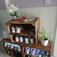 Thank you for the great photo 🙏🏻💝  A wide selection of banana, wine boxes, pallets of furniture and more can be found here > www.obstkisten-online.de