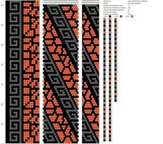 Handmade By Nataniel - bead crochet necklaces's photos Bead Crochet Patterns, Beaded Jewelry Patterns, Peyote Patterns, Beading Patterns, Spiral Crochet, Bead Crochet Rope, Seed Bead Jewelry, Bead Jewellery, Crochet Beaded Necklace