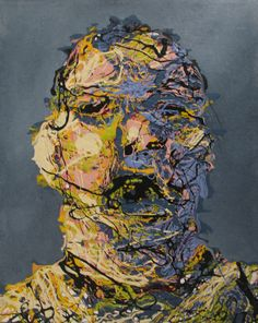 Abstract Drip Painting from the series Different by Craig Paul Nowak Drip Painting, Abstract Portrait, Jackson Pollock, Pictures To Paint, Portraits, Paintings, Artist, Paint, Head Shots