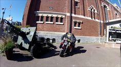 Balade sur mon Harley Davidson à Albert