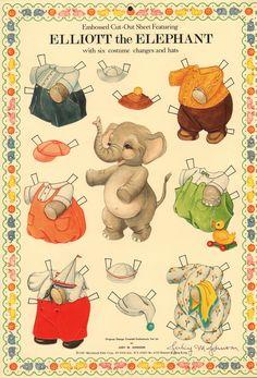 Elliot the Elephant by Judy M. Johnson