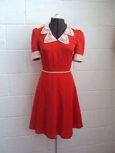 1960s dress, melting.