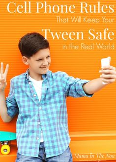 Cell phone rules tha Cell phone rules that will keep tweens safe in the real world. Cell phone contract for tweens. Tweens with cell phones. Cell phone safety rules for tweens and teens. Parenting Teens, Parenting Hacks, Practical Parenting, Foster Parenting, What Is Sleep, Cell Phones In School, Cell Phone Service, Teen Cell Phone Contract, Phone Deals