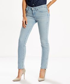 Look at this Ravine Skyline 712 Slim Jeans on #zulily today!