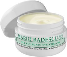 Hyaluronic Eye Cream from Mario Badescu - derms agree, nothing smooths and soothes dry undereye area better