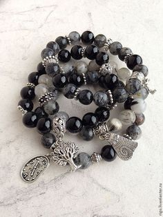 Lava Bracelet, Gemstone Bracelets, Bracelets For Men, Handmade Bracelets, Bracelet Making, Gemstone Jewelry, Beaded Jewelry, Jewelry Bracelets, Jewelery