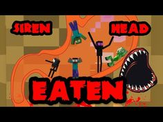 SIREN HEAD - BELLY ESCAPE - HORROR MONSTER SCHOOL CHALLENGE - YouTube Monster School, Minecraft Survival, Horror Monsters, Challenges, Youtube, Youtubers, Youtube Movies