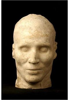 Seminole Chief Osceola (1804-1838), death mask; painted and overpainted plaster, ca. 1838, by unidentified artist, NYHS Object Number 1946.362.