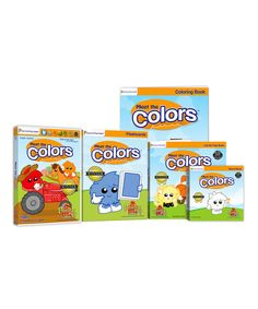 This Colors DVD & Book Set by Preschool Prep is perfect! #zulilyfinds