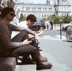 Out and about in Paris by 5sos