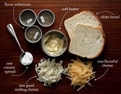 Anatomy of a really good grilled cheese. / petite kitchenesse