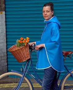While we all wish they'll be endless sunny, dry days in Spring we know we need to be realistic and Otto London's poncho may just save the day http://www.bikelands.co.uk/collections/clothes-1/products/urban-poncho-from-otto