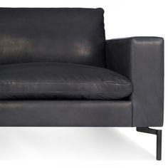 Elegant Granite Leather / Black