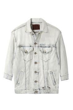 R13 Oversize Jean Jacket