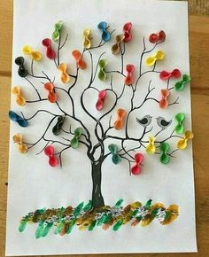 Related Posts:Tree art and craft activitiesChristmas decoration ideasProtect the ForestsSpring tree craft for preschoolers us wp-content uploads 2017 01 macaroni-tree-craft. 50 awesome spring crafts for kids ideas 2 Four season tree craft ideas for presch Kids Crafts, Spring Crafts For Kids, Tree Crafts, Summer Crafts, Fall Crafts, Diy For Kids, Diy And Crafts, Craft Projects, Arts And Crafts