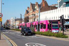 Love Croydon's new pink tram