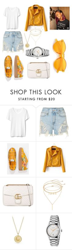 """""""Untitled #442"""" by askariwilson on Polyvore featuring R13, Pepe Jeans London, WithChic, Gucci, Mudd and David Yurman"""