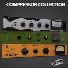 McDSP Compressor Collection - Shop - Propellerhead