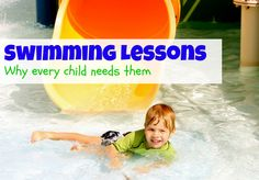 Some alarming statistics about drowning and why YOUR child needs swimming lessons!