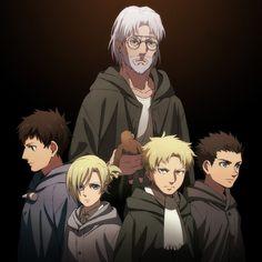 Zeke, Bertholdt, Annie, Reiner, Marcel | Attack on Titan