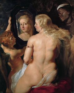 Peter Paul Rubens - The toilet of Venus  (3608×4553)