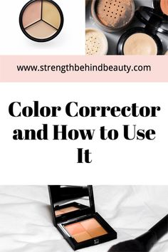 How to use color corrector for all skin tones Green Color Corrector, Color Correcting Concealer, Dark Circles Under Eyes, Cover Up Tattoos, Dark Skin Tone, Makeup Forever, Makeup Tips, Beauty Hacks