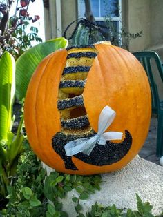 Witchy Pumpkin.