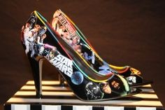 Star Wars Peep-Toe Pumps - @Shelli Garrison