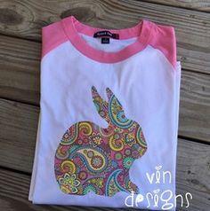 Printed Bunny Shirt