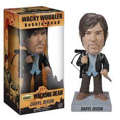 The Walking Dead Biker Daryl Dixon Bobble Head - Funko - Walking Dead - Bobble Heads at Entertainment Earth
