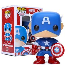 "$13.99 (Buy here: https://alitems.com/g/1e8d114494ebda23ff8b16525dc3e8/?i=5&ulp=https%3A%2F%2Fwww.aliexpress.com%2Fitem%2FFUNKO-POP-Marvel-Captain-America-06-PVC-Action-Figure-Collection-Toy-Doll-4%2F32695277384.html ) FUNKO POP Marvel Captain America #06 PVC Action Figure Collection Toy Doll 4"" 10CM FKFG115 for just $13.99"