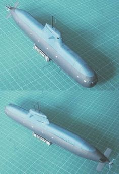This paper model is a SSK U212A Todaro Class Submarine, a highly advanced design of non-nuclear submarine developed by Howaldtswerke-Deutsche Werft AG (HDW