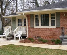 great website reviewing colors that go well with various brick colors orange brick housesred