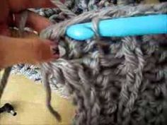 ▶ How to Crochet a Chunky Circle Scarf - YouTube: great for someone learning how to crochet. I even learned a new stitch and I've been crocheting for 20 years