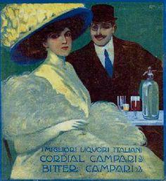 Gian Emilio Malerba, Cordial Bitter Campari (1910)