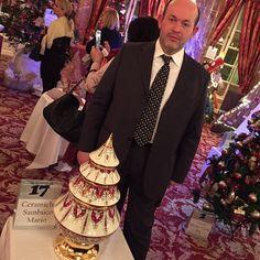 """#Casino Ceramiche Sambuco Mario - l'Albero di Natale """"Dal cuore alle mani"""" nel Principato di Monaco. Hotel Hermitage, Salon la Belle Epoque, Monte-Carlo. #sambuco #deruta #buschi #principatodimonaco #monaco #montecarlo #luxury #elegant #exclusive #eccellenze #excellence #dubai #moscow #newyork #natale #christmas #christmastree #eccedigit #umbrians #maiolica #madeinitaly by sambucoceramiche from #Montecarlo #Monaco"""