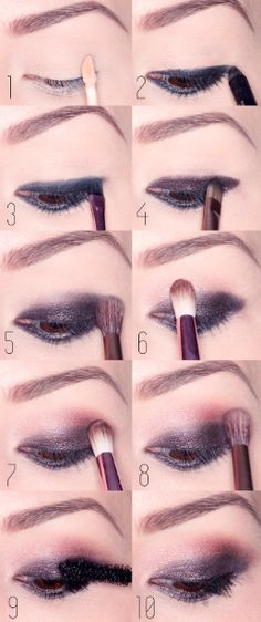 She'll make me glamorous. She'll make me beautiful. She'll give me the perfect nude smoky eye that doesn't even exist because nude ≠ smoky.