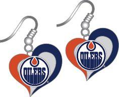 Edmonton Oilers Christmas Ornament
