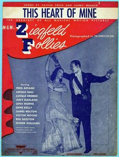 Ziegfeld Follies 1945 | This Heart of Mine from Ziegfeld Follies 1945 w Fred Astaire Lucille ...