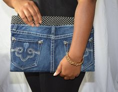 Bottoms Up Clutch by clutchnpearls on Etsy