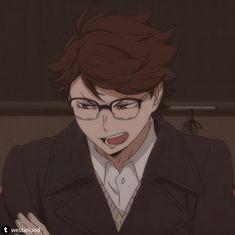 Oikawa Tooru, Haikyuu Karasuno, Iwaoi, Cute Anime Guys, Cute Anime Couples, I Love Anime, Manga Haikyuu, Anime Manga, Haikyuu Funny
