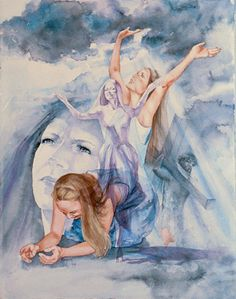 Worship from mourning to dancing  MaryBeth Stafford   Art