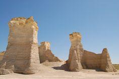 Monument Rocks - Gove Co., KS