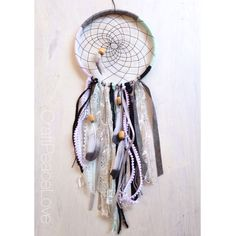 Modern Chic Dreamcatcher/Wall Hanging - pinned by pin4etsy.com