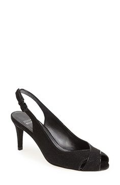 70ba03aed63 Stuart Weitzman 'Crossword' Slingback Pump (Women) available at #Nordstrom